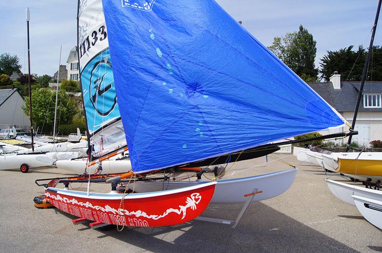 D coration voiles bateaux et meubles peints - Peinture coque bateau ...
